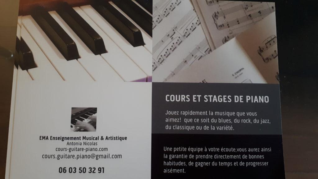 stage de piano paris 2020