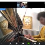 cours de piano en ligne Zoom