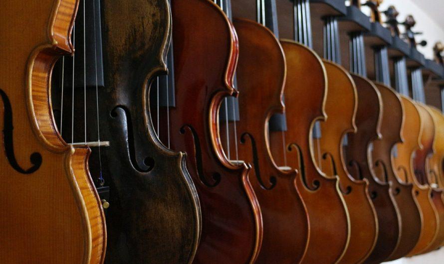 Nos nouveaux cours de violon sont disponibles